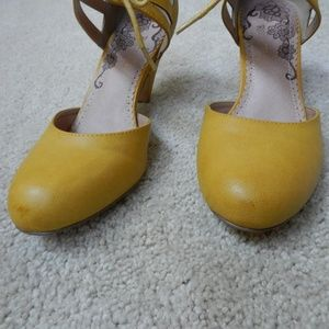 Modcloth Shoes - Shimmy My Way heels from Modcloth